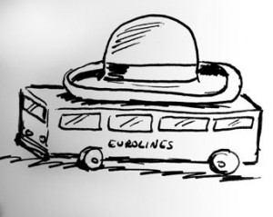 hat-on-bus